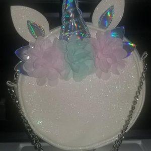 Child's unicorn purse
